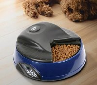 Автокормушка   SITITEK Pets Ice Mini (Dark blue) с ЖК дисплеем