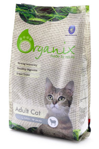Organix Adult Cat Lamb