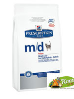 Hills  Prescription Diet  m/d Feline - Корм при диабете
