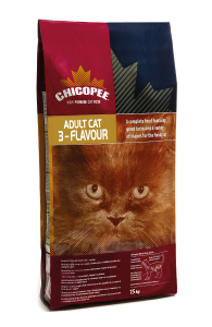 Корм для кошки Chicopee EU Cat Adult 3- Flavour  в Мурманске