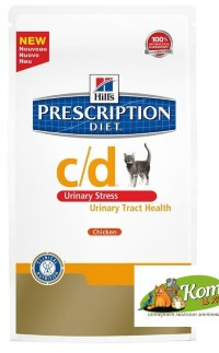 Hills Prescription Diet C/D -Корм при стрессе и цистите